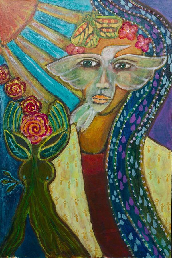 Breaking Free Painting