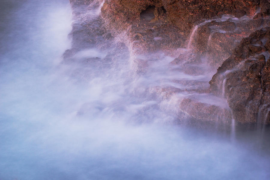 Breaking Of Waves II Photograph