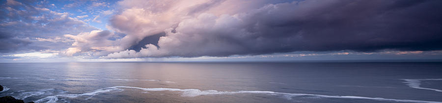 Panorama Photograph - Breaking Storm by Andrew Soundarajan