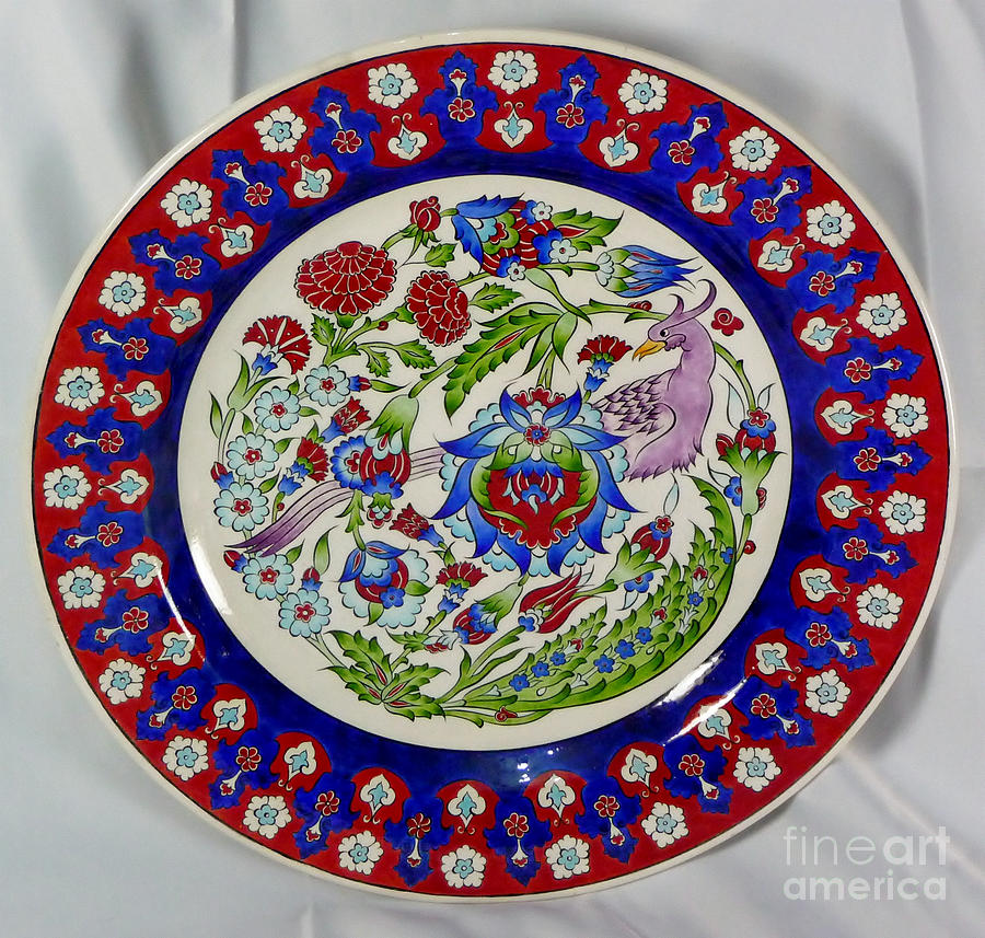 Iznik Ceramic Art - Breath Of Eden by Khadeeja Ilhan