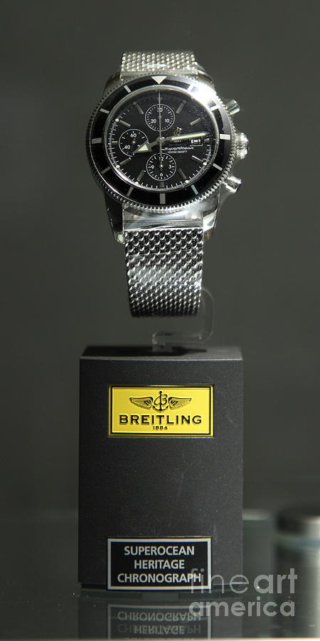 Breitling Watch - 5d20664 Photograph  - Breitling Watch - 5d20664 Fine Art Print