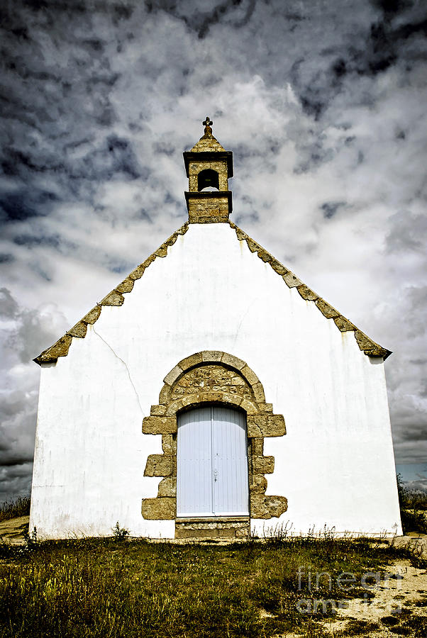 Breton Church Photograph