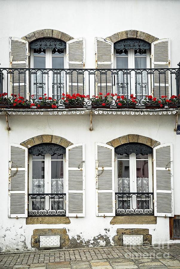 House Photograph - Breton House by Elena Elisseeva
