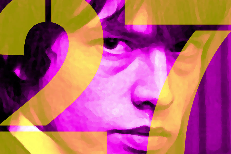 Brian Jones 27 Painting  - Brian Jones 27 Fine Art Print