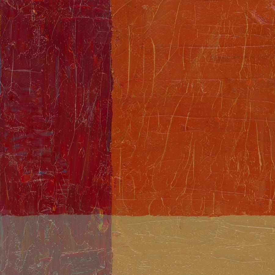Bricks And Reds Painting