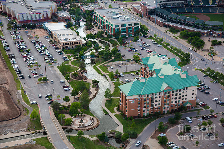 Bricktown Ballpark C Photograph