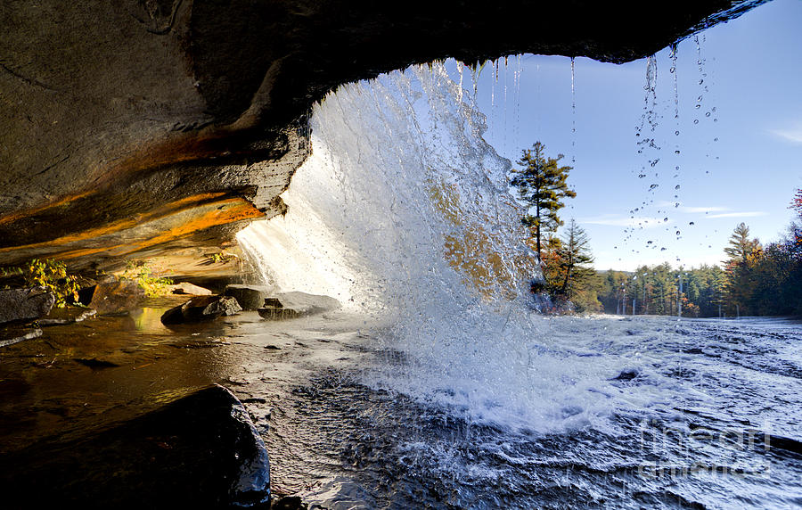 Bridal Veil Falls In Dupont State Forest Nc 2 Photograph