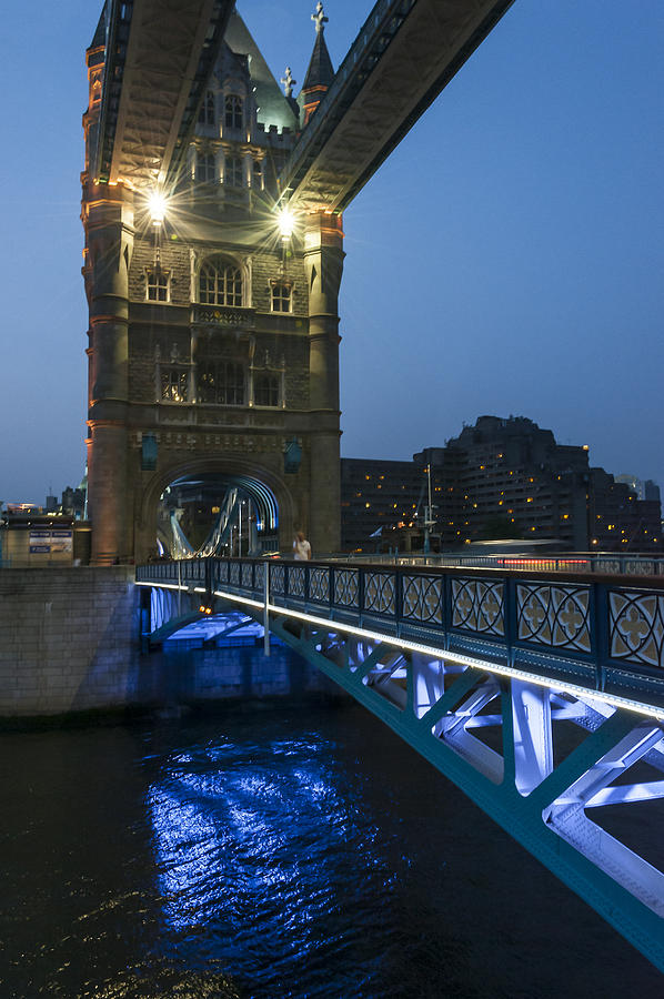 Bridge At Night Photograph