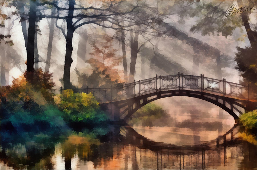 Bridge Painting  - Bridge Fine Art Print