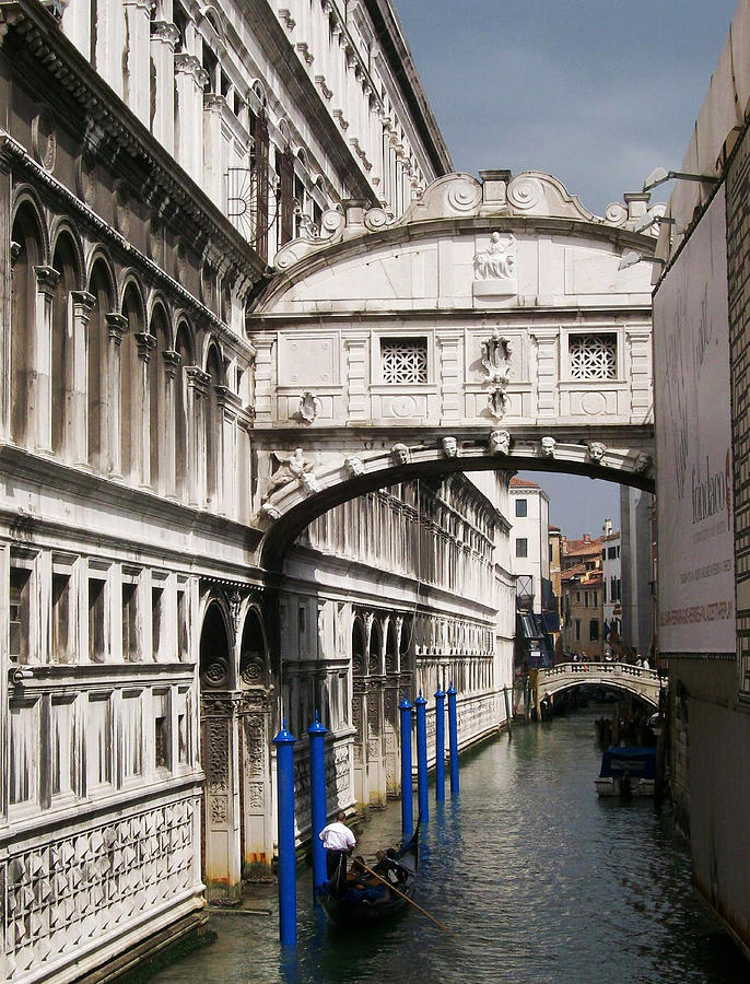 Bridge Of Sighs Photograph  - Bridge Of Sighs Fine Art Print