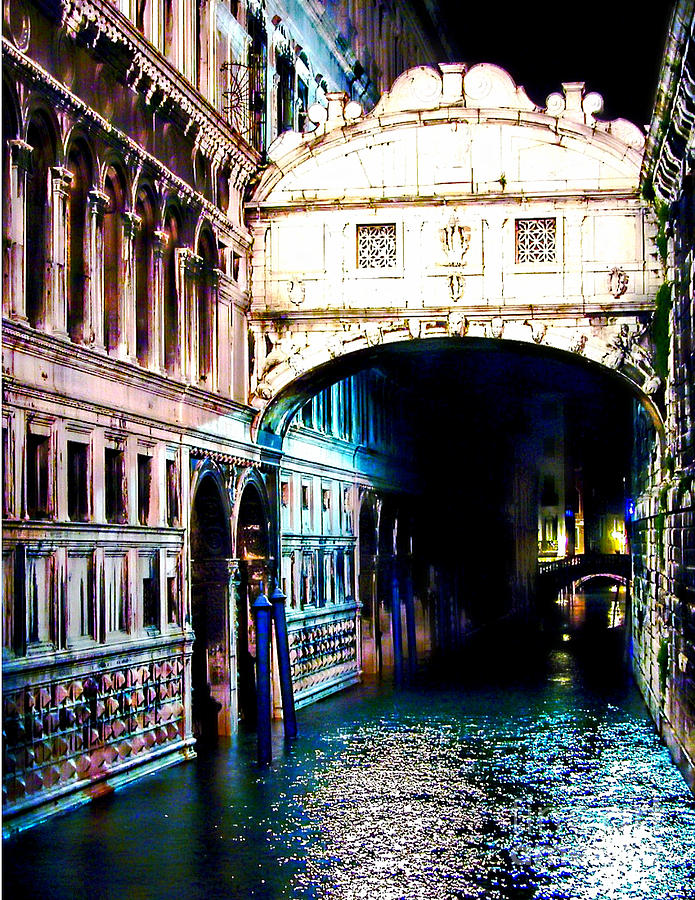 Bridge Of Sighs Digital Art
