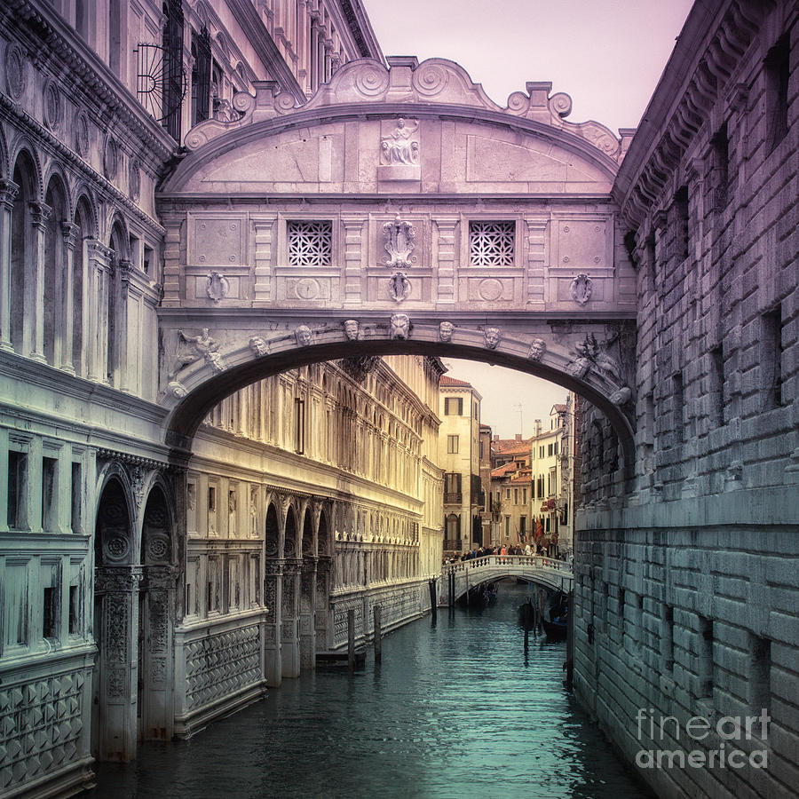 bridge of sighs venice photograph by viaina visual artist. Black Bedroom Furniture Sets. Home Design Ideas