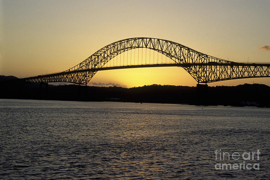 Bridge Of The Americas Photograph  - Bridge Of The Americas Fine Art Print