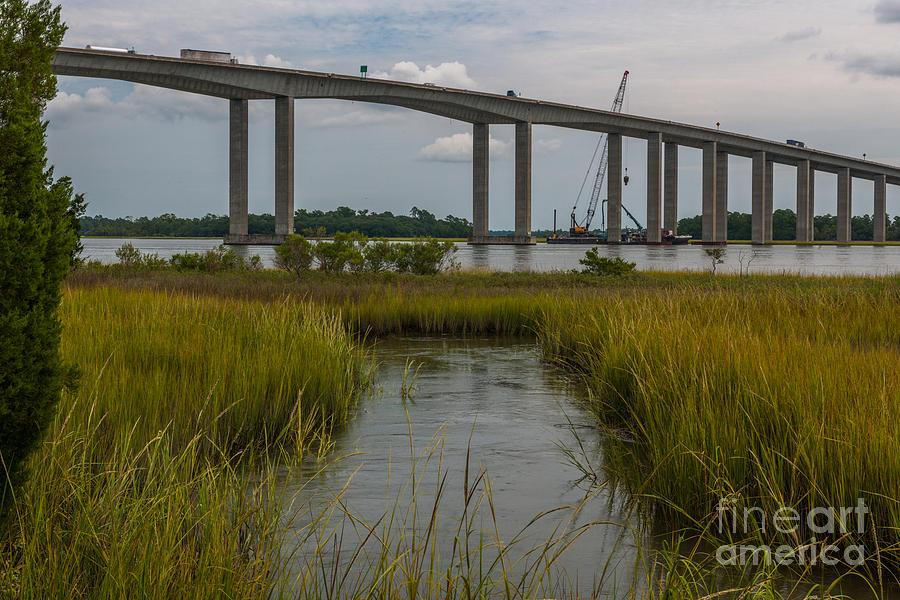 Bridge Repair Photograph