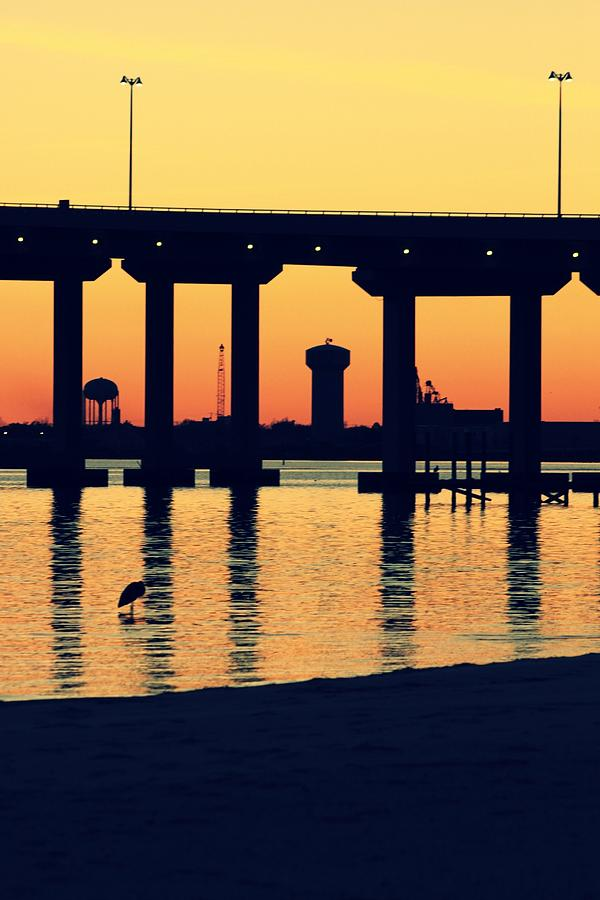 Bridge Sunset Photograph  - Bridge Sunset Fine Art Print