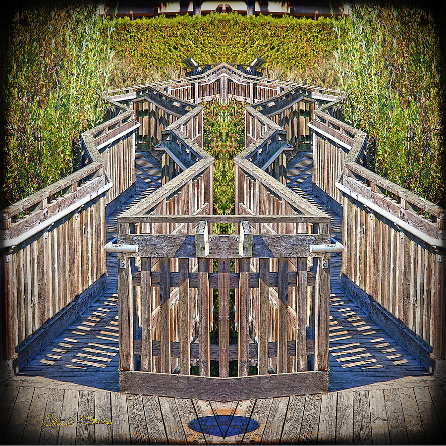 Bridge To Beyond Photograph  - Bridge To Beyond Fine Art Print
