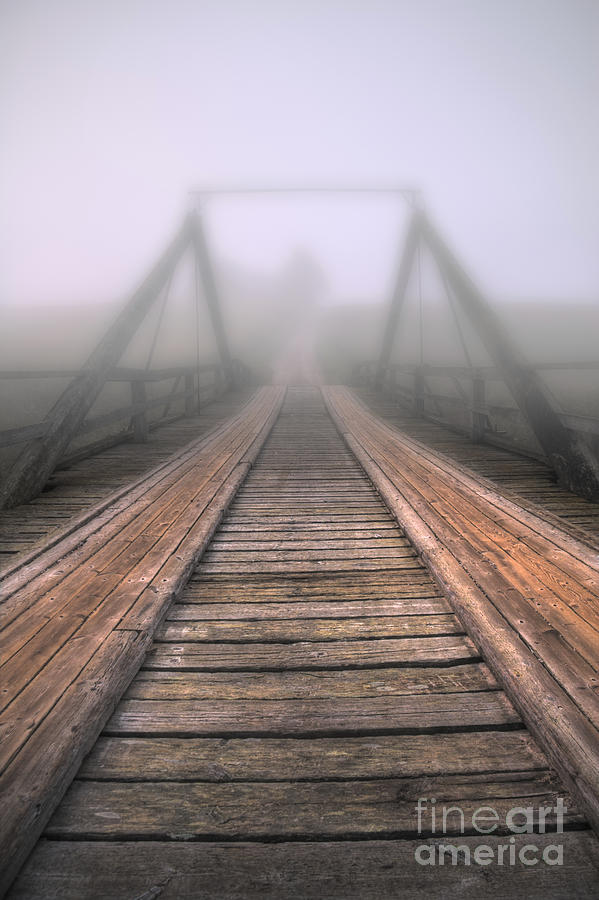 Bridge To Fog Photograph
