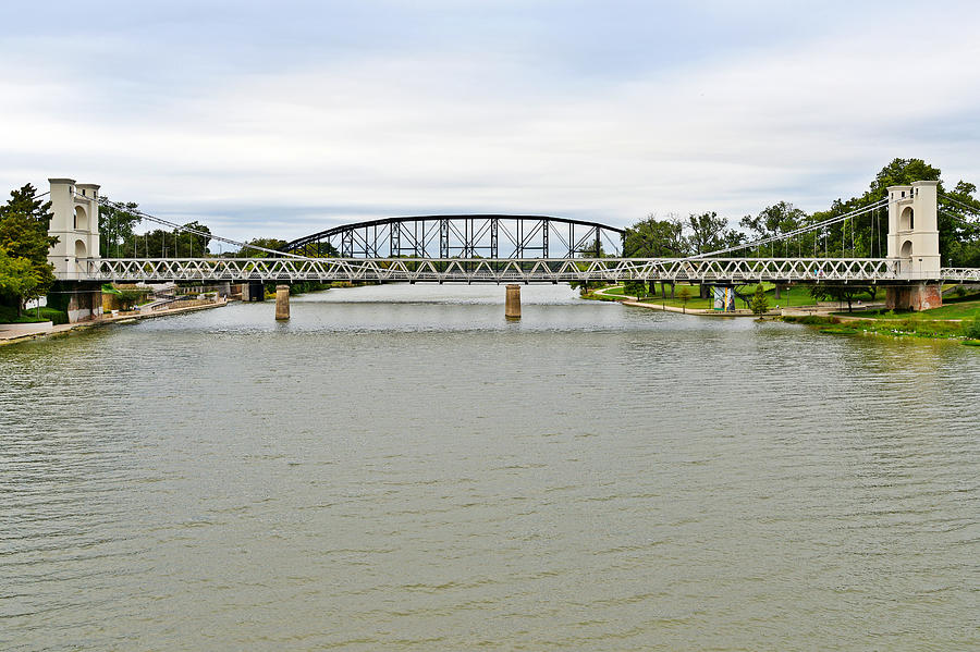 Bridges In Waco Tx Photograph