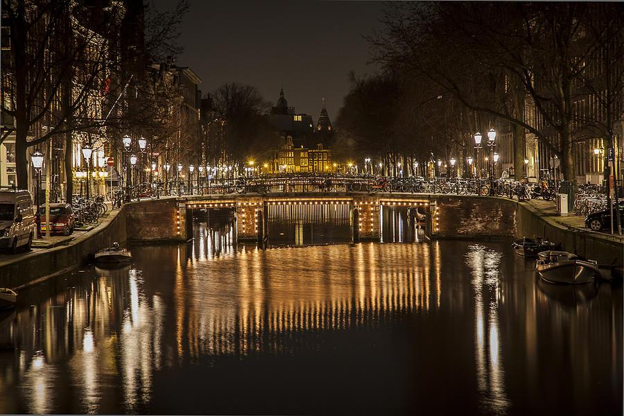 Amsterdam Photograph - Bridges Of Amsterdam by Shari Mattox