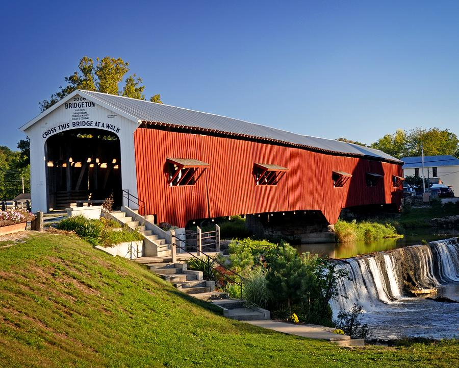 Bridgeton Covered Bridge 3 Photograph