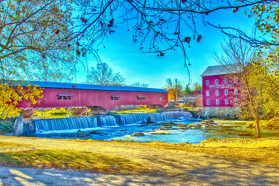 Bridgeton Mill Photograph