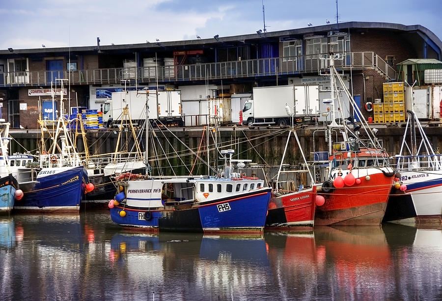 Bridlington Marina Photograph