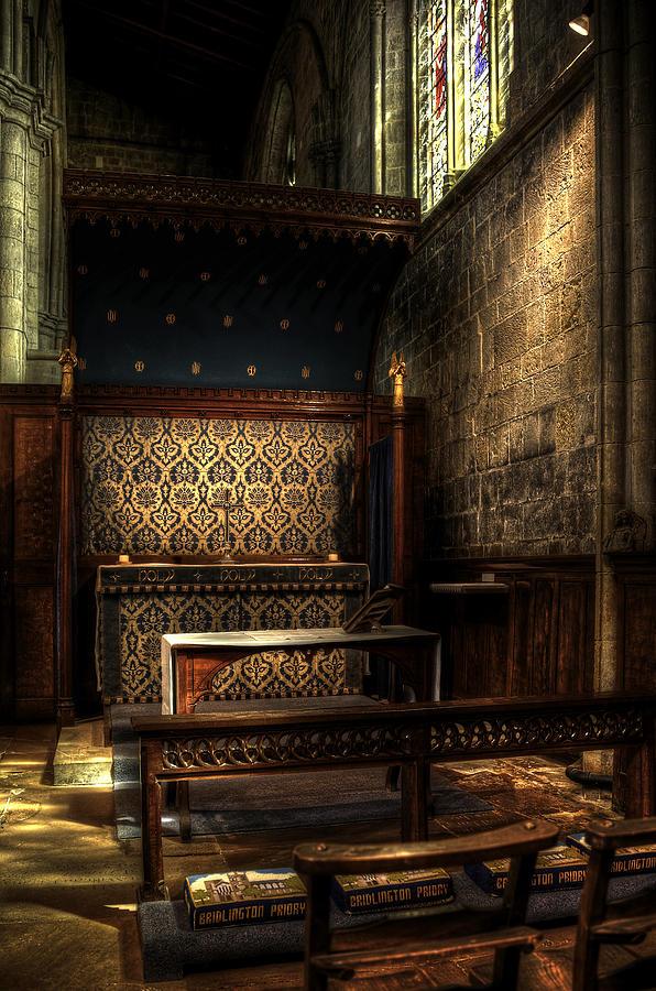 Abbey Photograph - Bridlington Priory by Svetlana Sewell