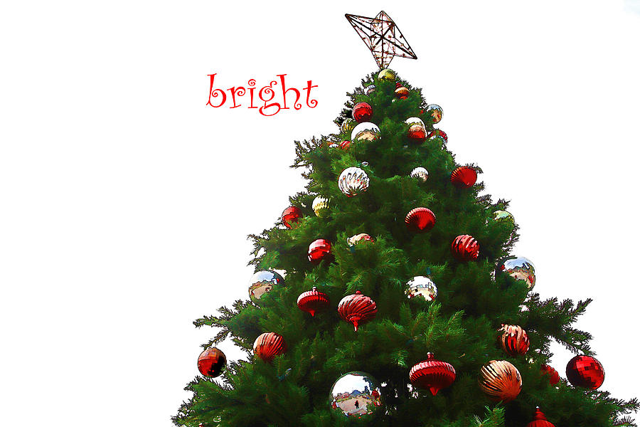 Holiday Photograph - Bright by Audreen Gieger-Hawkins
