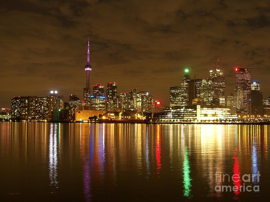Bright Lights Big City Photograph  - Bright Lights Big City Fine Art Print