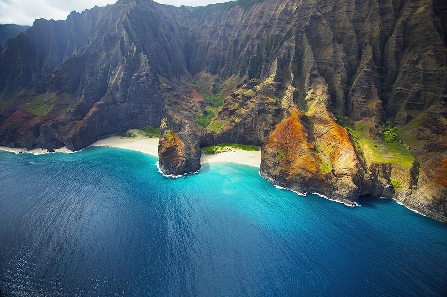 Bright Na Pali Coast Photograph by Kicka Witte