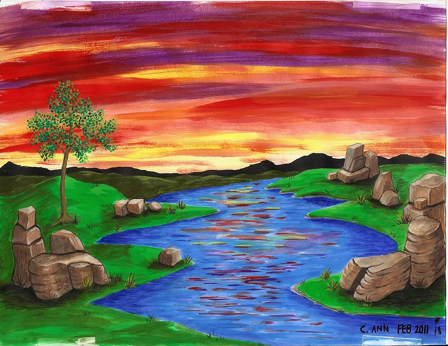 Bright Sky Painting