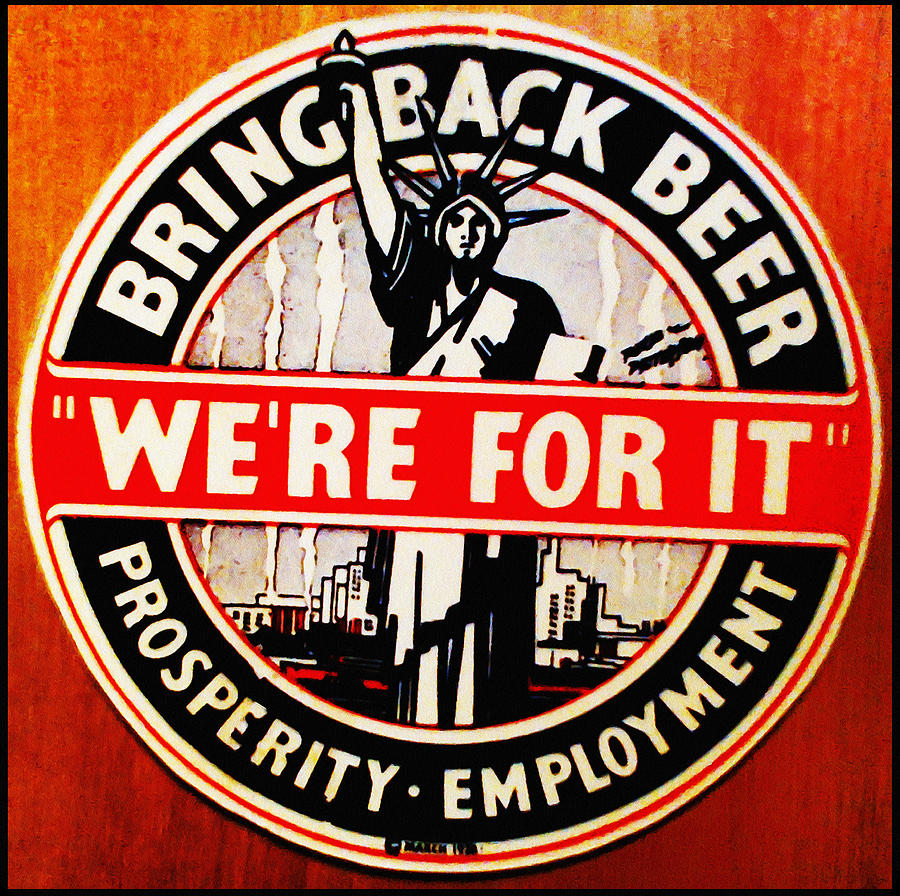 Bring  Photograph - Bring Back Beer - Were For It by Digital Reproductions
