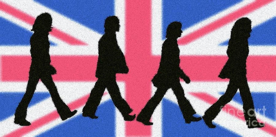 British Invasion Digital Art