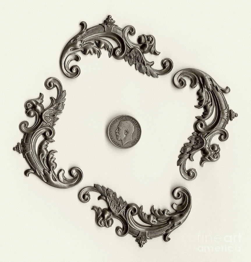 British Shilling Wall Art Version 1 Photograph