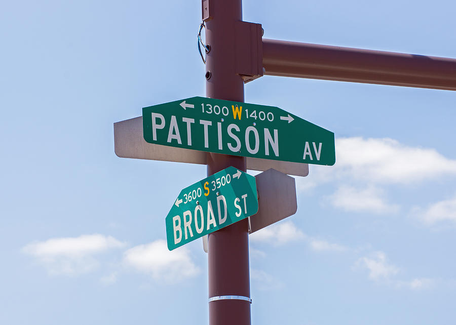 Broad And Pattison Where Philly Sports Happen Photograph