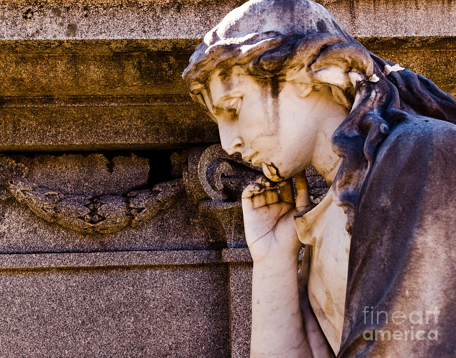 Broken Angel Photograph  - Broken Angel Fine Art Print