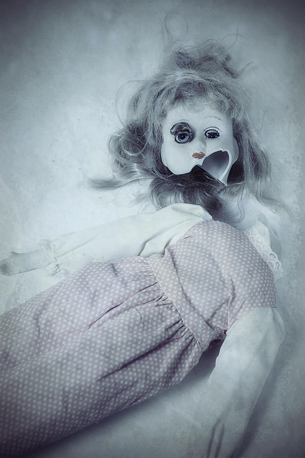 Broken Doll Photograph  - Broken Doll Fine Art Print