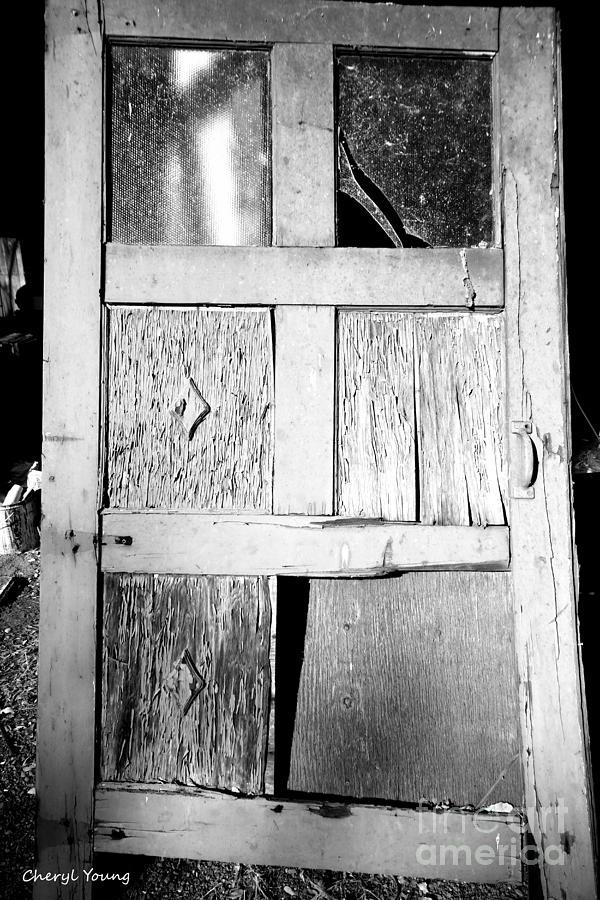 Broken Door Photograph
