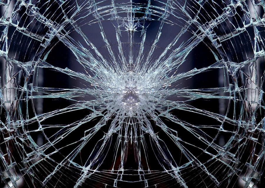 Broken Glass Digital Art By Gina Dsgn