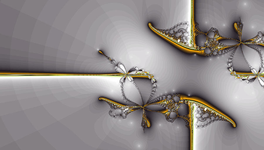 Broken Jewelry-fractal Art Digital Art