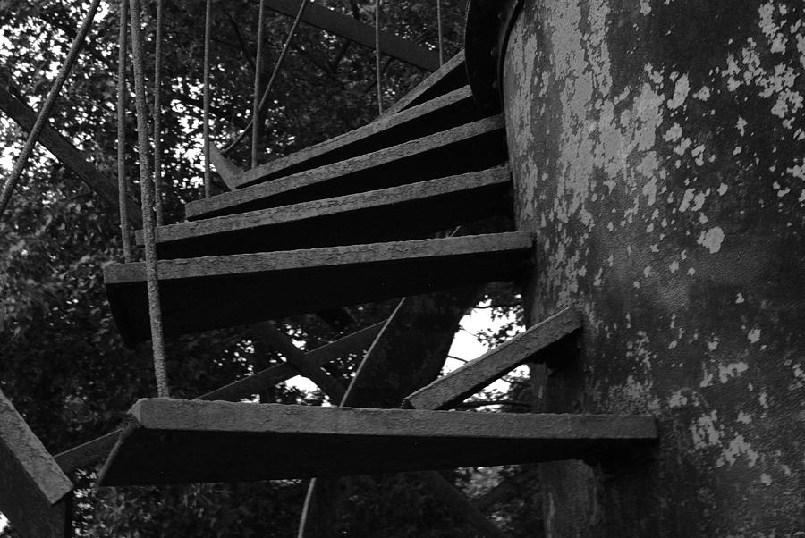 Broken Stairs Photograph  - Broken Stairs Fine Art Print