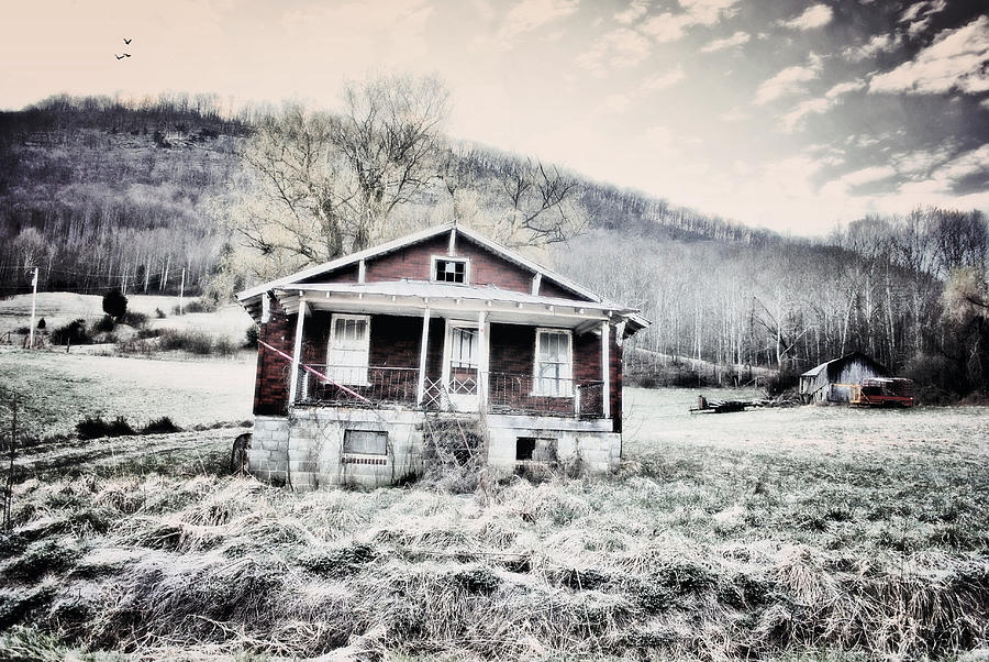 Abandoned House Photograph - Broken Virginia by Emily Stauring