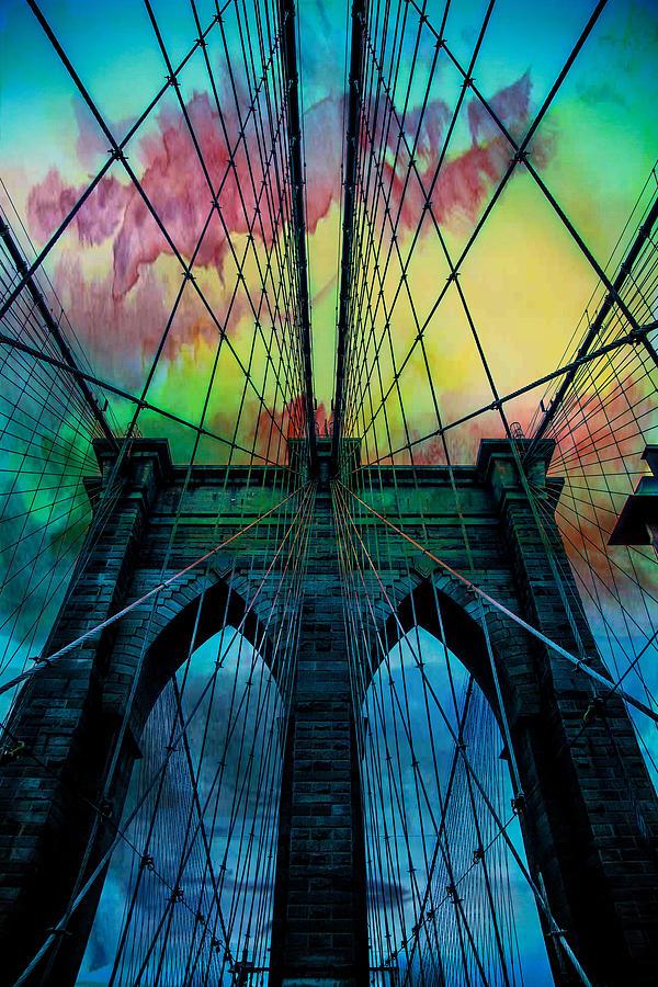 Psychedelic Skies Digital Art