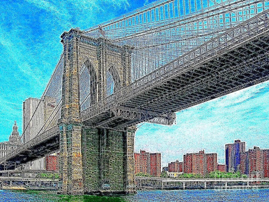 Brooklyn Bridge New York 20130426 Photograph  - Brooklyn Bridge New York 20130426 Fine Art Print