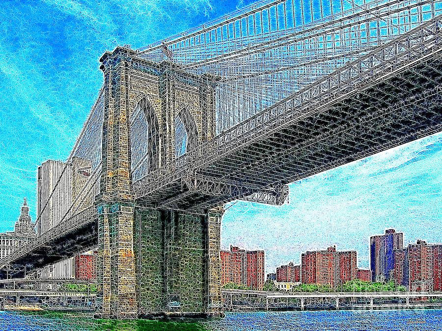 Brooklyn Bridge New York 20130426 Photograph