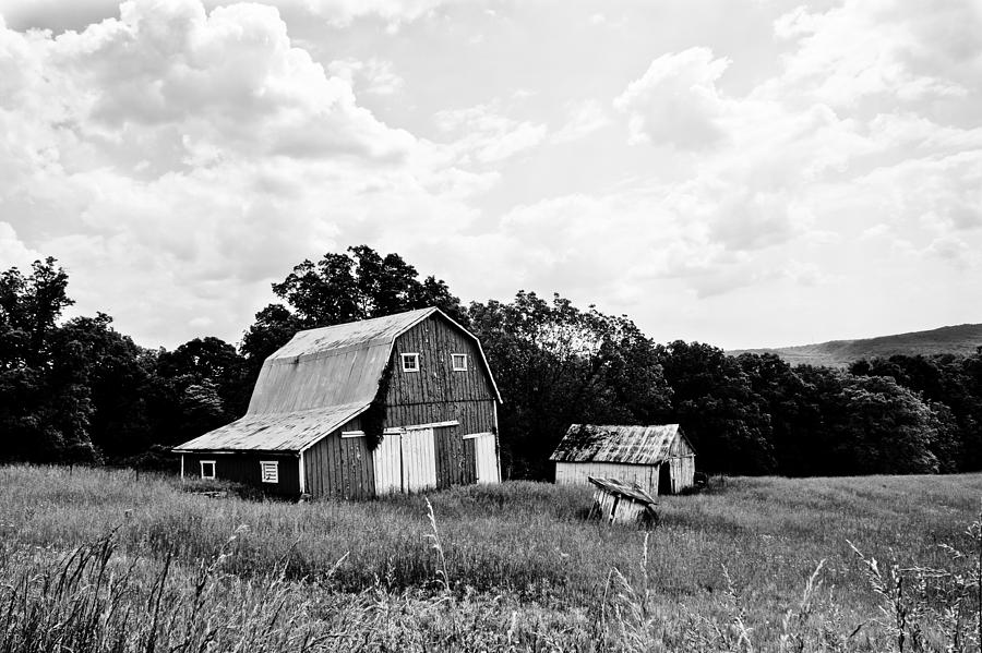 Barn Photograph - Brown County Barn II by Off The Beaten Path Photography - Andrew Alexander