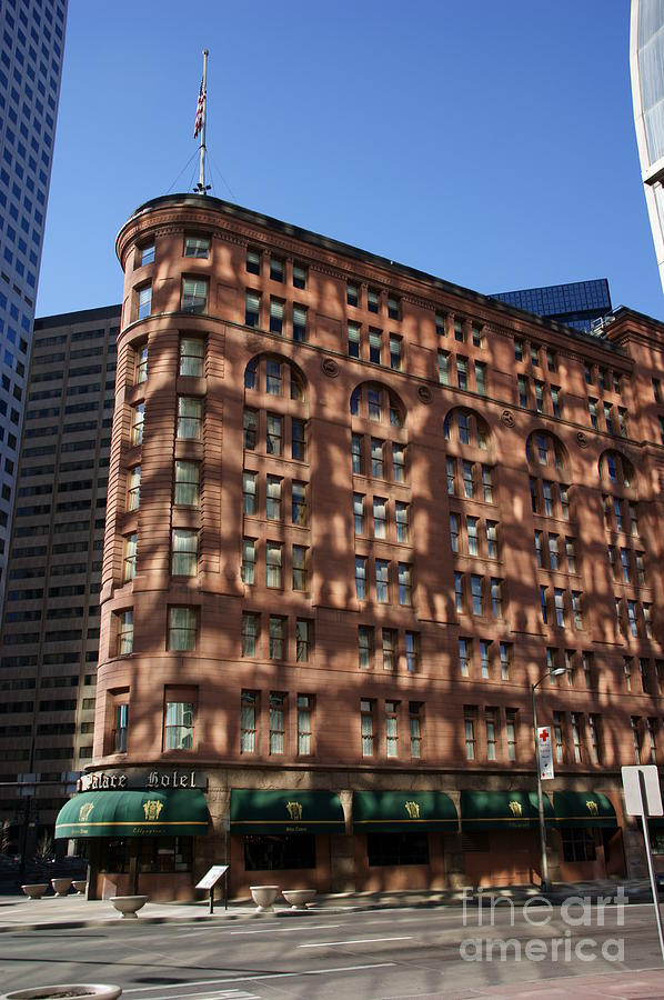 Brown Palace Photograph  - Brown Palace Fine Art Print