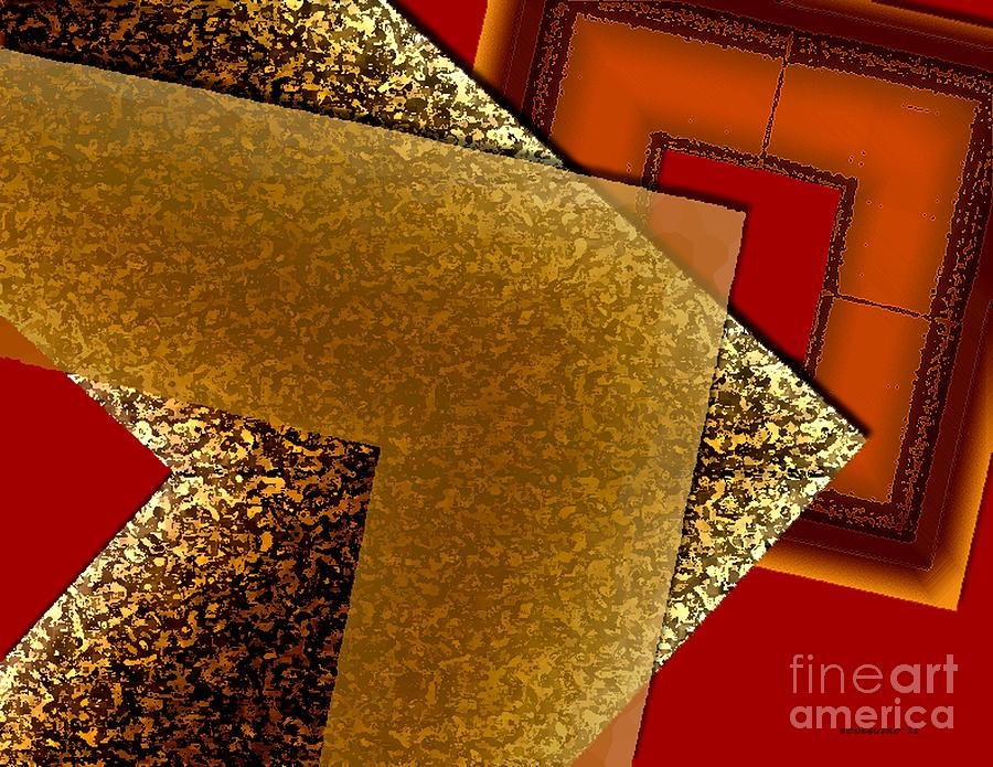 Brownish Design Digital Art