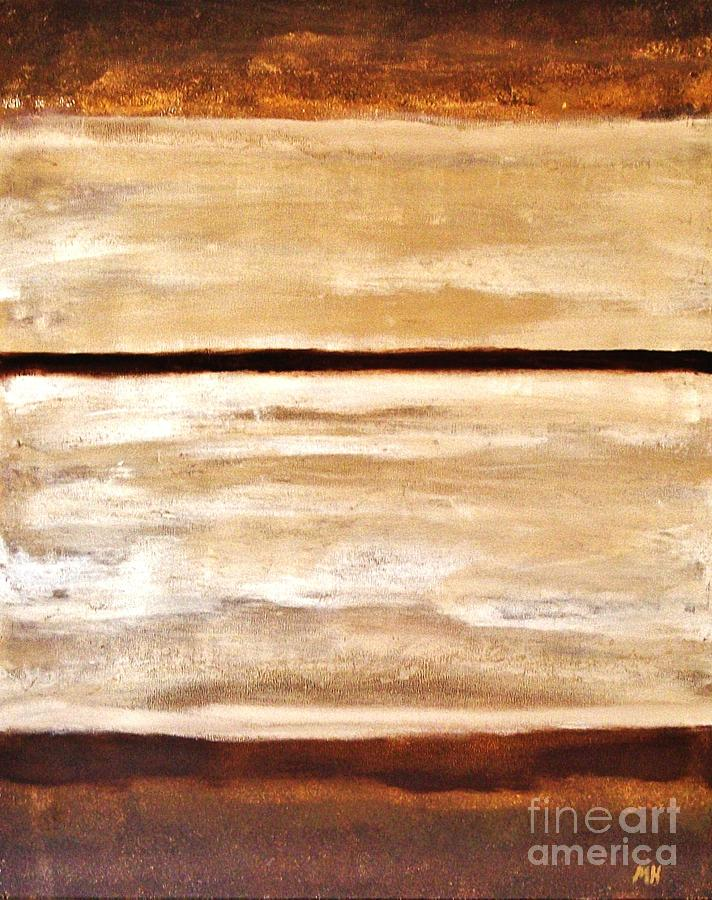 Browns Thru White Tones Painting
