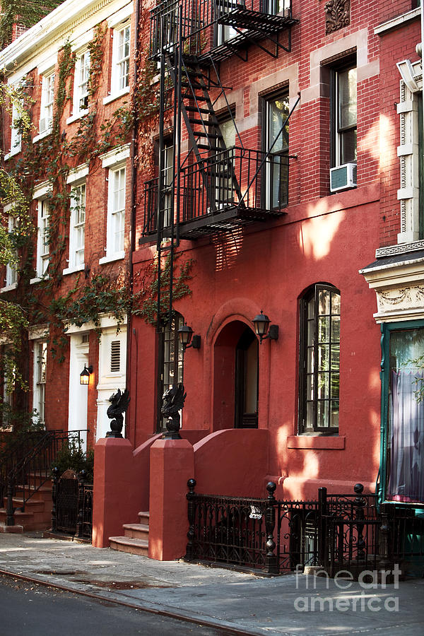 Brownstone Photograph